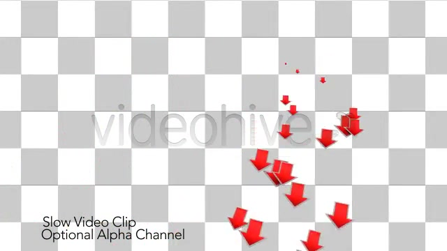 Into the Red Investment Losses Arrows With Alpha Videohive 4093312 Motion Graphics Image 11