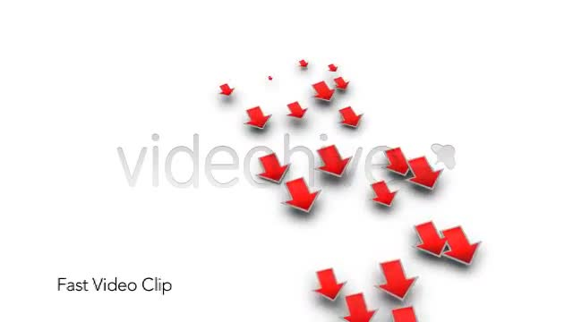 Into the Red Investment Losses Arrows With Alpha Videohive 4093312 Motion Graphics Image 2