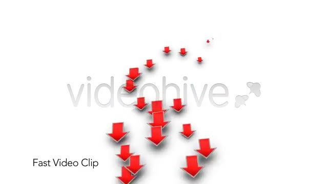 Into the Red Investment Losses Arrows With Alpha Videohive 4093312 Motion Graphics Image 3