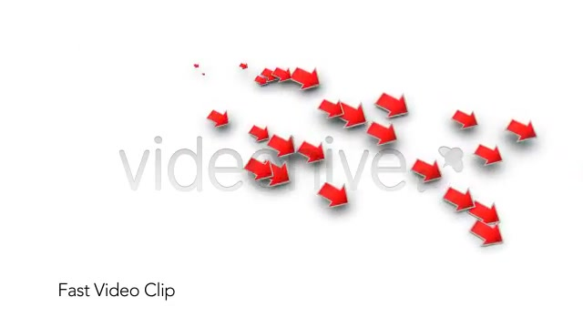 Into the Red Investment Losses Arrows With Alpha Videohive 4093312 Motion Graphics Image 4