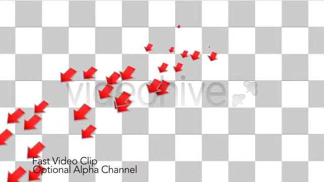 Into the Red Investment Losses Arrows With Alpha Videohive 4093312 Motion Graphics Image 5