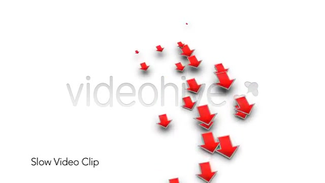 Into the Red Investment Losses Arrows With Alpha Videohive 4093312 Motion Graphics Image 6