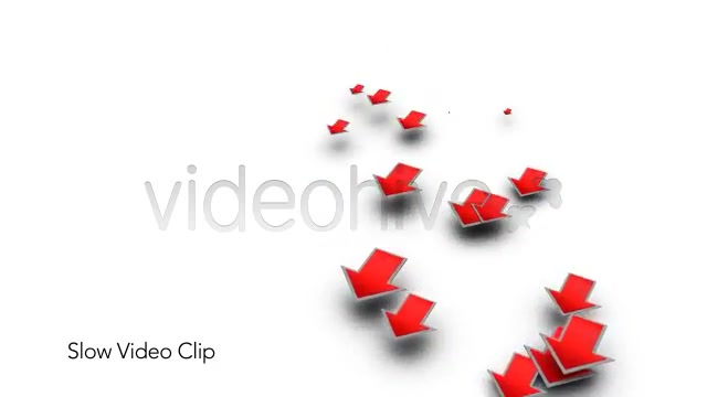 Into the Red Investment Losses Arrows With Alpha Videohive 4093312 Motion Graphics Image 7