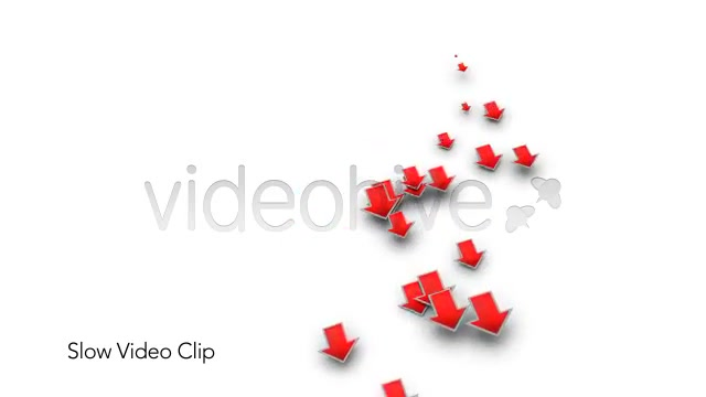 Into the Red Investment Losses Arrows With Alpha Videohive 4093312 Motion Graphics Image 8