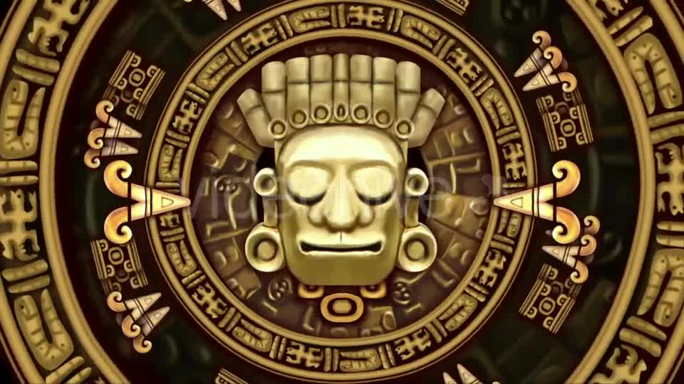 Mayans Background VJ Loops Videohive 19711878 Motion Graphics Image 1