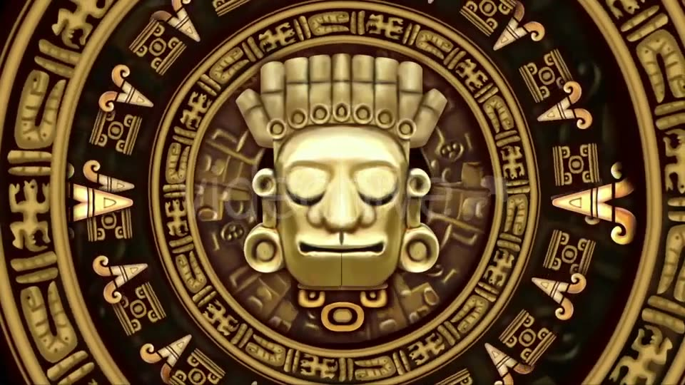Mayans Background VJ Loops Videohive 19711878 Motion Graphics Image 3