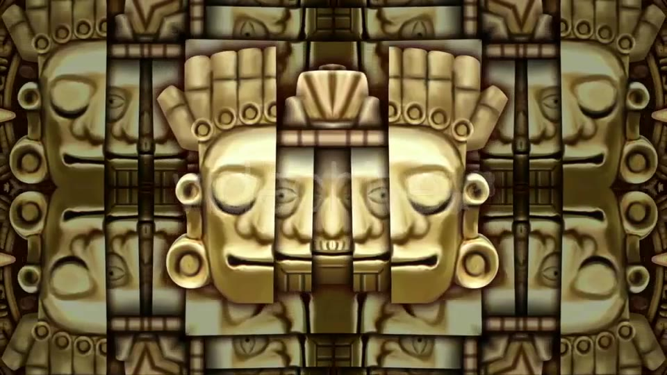 Mayans Background VJ Loops Videohive 19711878 Motion Graphics Image 6