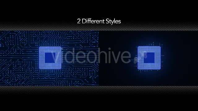 Motherboard CPU Circuits Videohive 19772992 Motion Graphics Image 1
