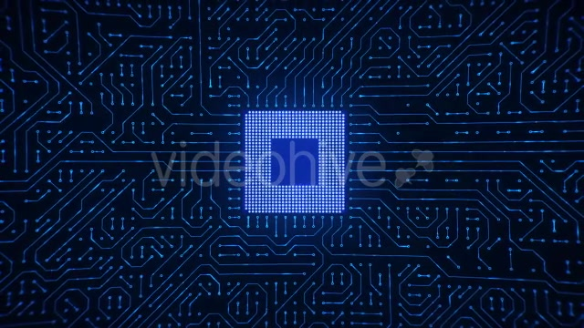 Motherboard CPU Circuits Videohive 19772992 Motion Graphics Image 10