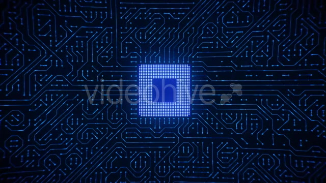 Motherboard CPU Circuits Videohive 19772992 Motion Graphics Image 11