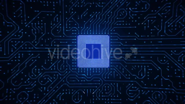 Motherboard CPU Circuits Videohive 19772992 Motion Graphics Image 5
