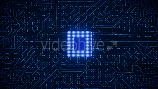 Motherboard CPU Circuits Videohive 19772992 Motion Graphics Image 6