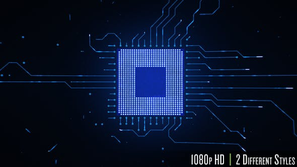 Motherboard CPU Circuits - 19772992 Videohive Download