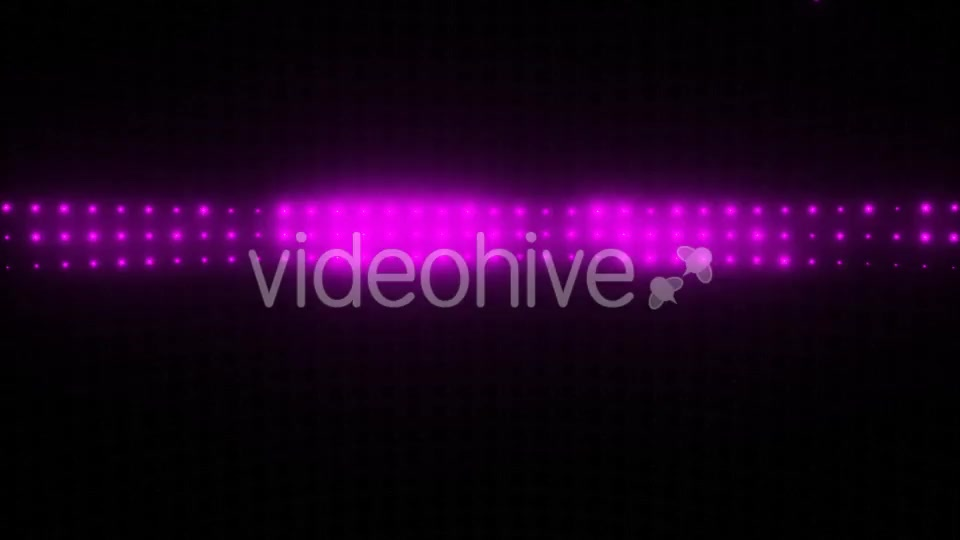 Multicolor Wall of Lights VJ Loop Videohive 19748358 Motion Graphics Image 5