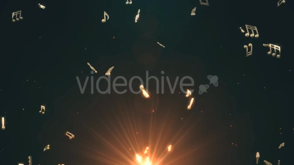 Musical Notes Flying Videohive 19754156 Motion Graphics Image 2