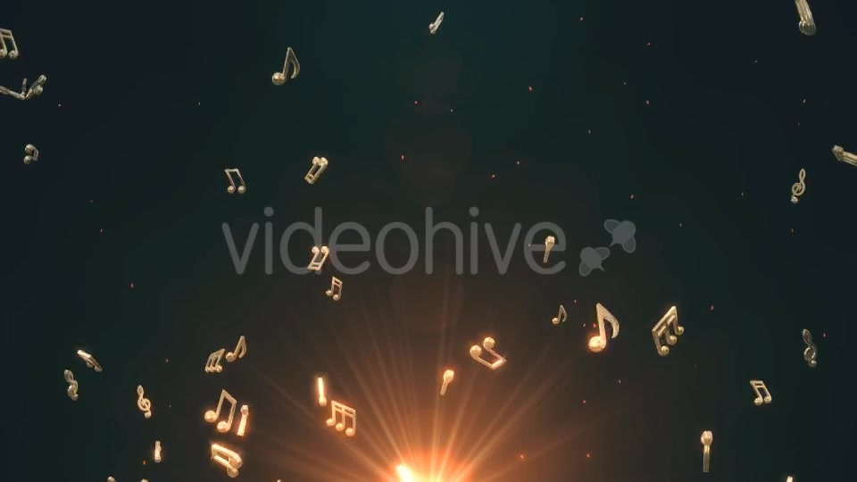 Musical Notes Flying Videohive 19754156 Motion Graphics Image 4