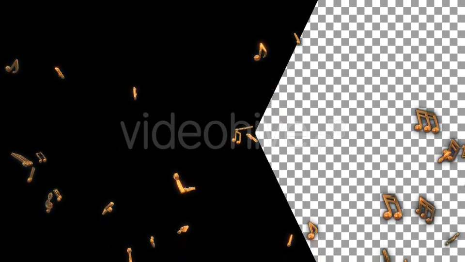 Musical Notes Flying Videohive 19754152 Motion Graphics Image 3
