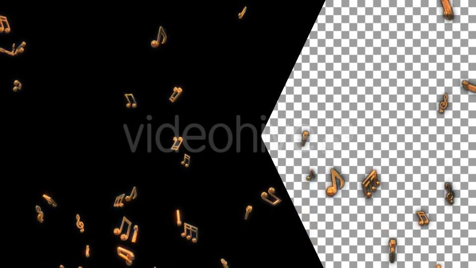Musical Notes Flying Videohive 19754152 Motion Graphics Image 4