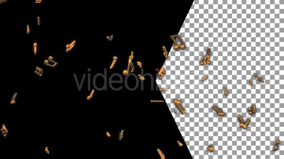 Musical Notes Flying Videohive 19754152 Motion Graphics Image 6
