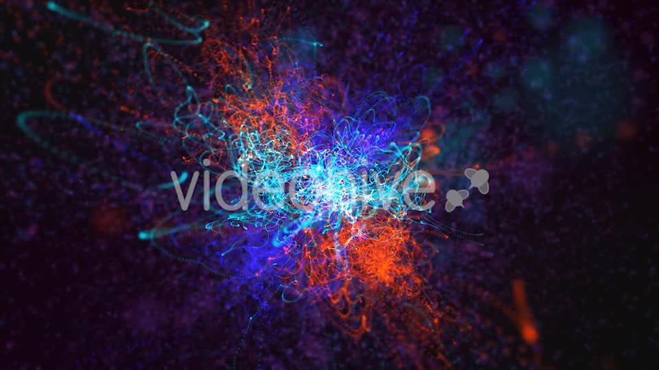 Red Blue and Green Particles Background Videohive 19792890 Motion Graphics Image 1