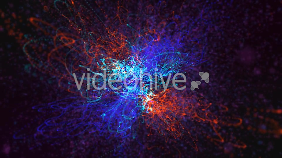 Red Blue and Green Particles Background Videohive 19792890 Motion Graphics Image 7