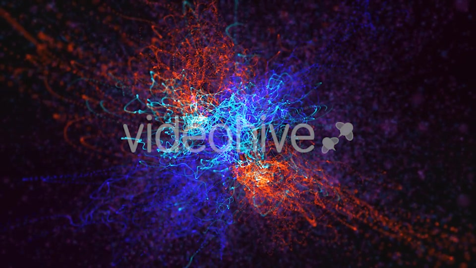 Red Blue and Green Particles Background Videohive 19792890 Motion Graphics Image 8