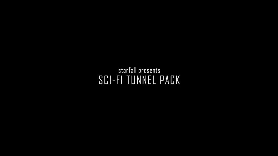 Sci Fi Tunnel Pack Videohive 19813013 Motion Graphics Image 1