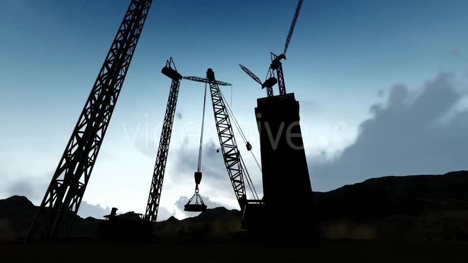 Silhouette Construction Videohive 19729750 Motion Graphics Image 2