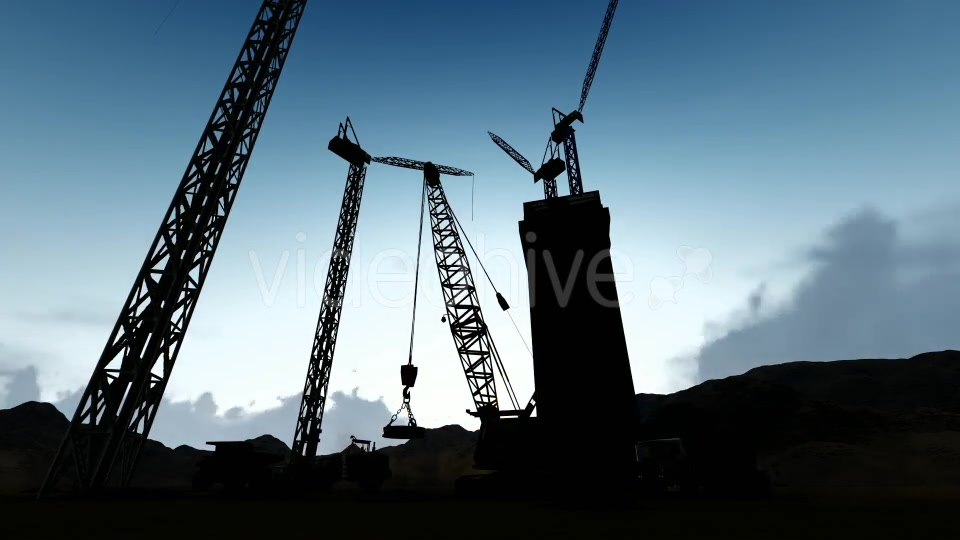 Silhouette Construction Videohive 19729750 Motion Graphics Image 4