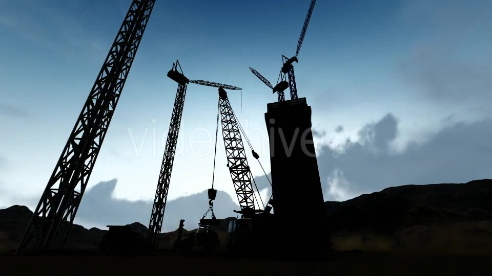 Silhouette Construction Videohive 19729750 Motion Graphics Image 5