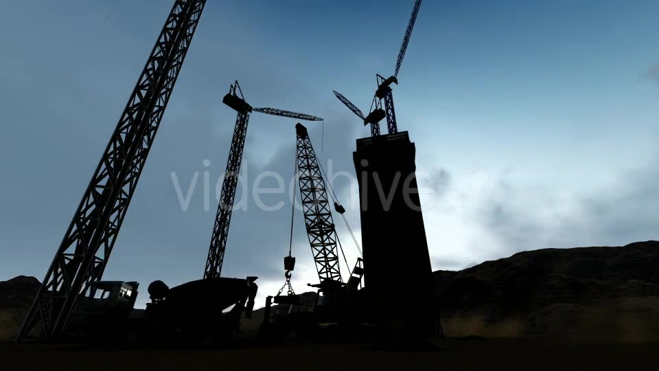 Silhouette Construction Videohive 19729750 Motion Graphics Image 6