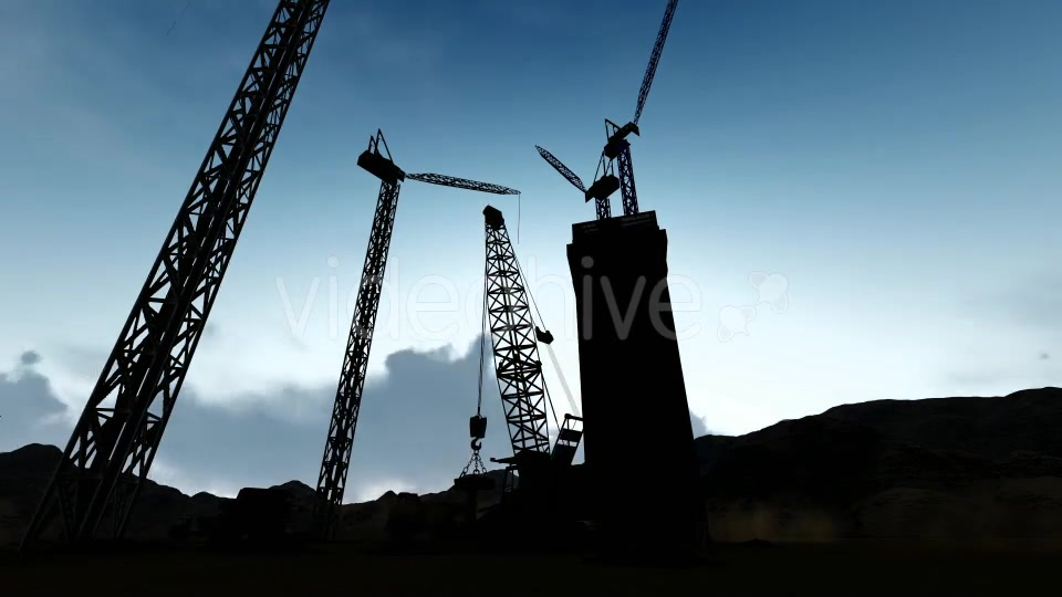 Silhouette Construction Videohive 19729750 Motion Graphics Image 7
