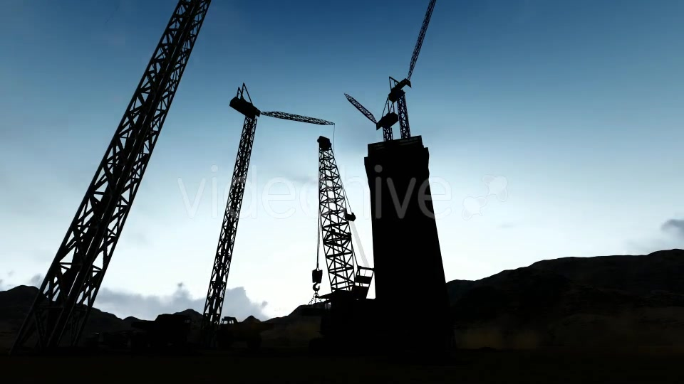 Silhouette Construction Videohive 19729750 Motion Graphics Image 8