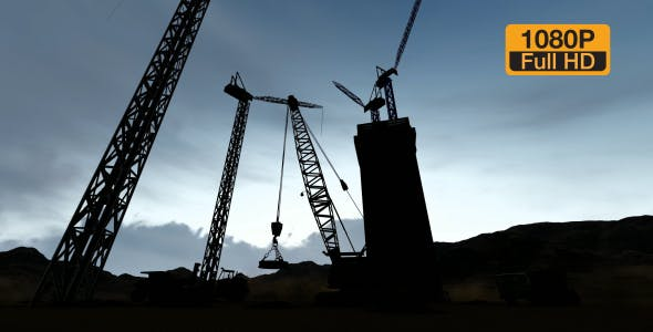 Silhouette Construction - Videohive Download 19729750