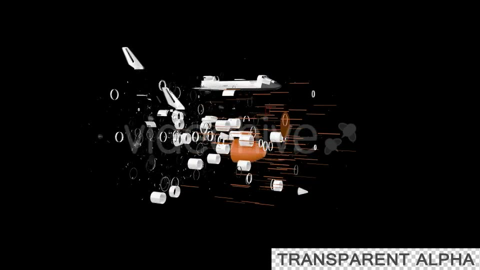 Space Shuttle Discovery Transforming Videohive 19724415 Motion Graphics Image 2