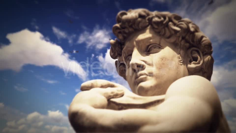 Statue of David, Florence, Italy Videohive 19763113 Motion Graphics Image 1