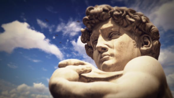 Statue of David, Florence, Italy - 19763113 Download Videohive