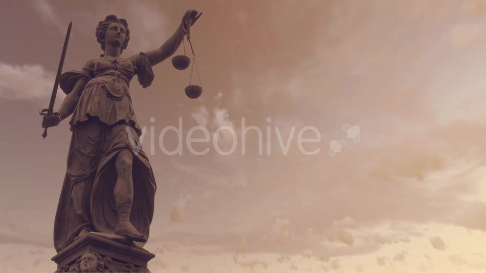 Statue of Lady Justice With Dark Weather Videohive 19763440 Motion Graphics Image 8