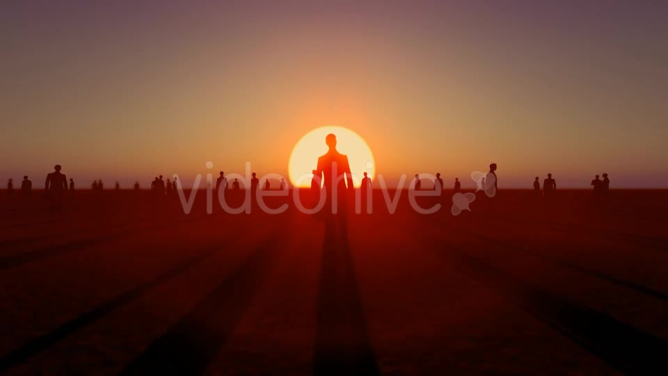 Sunset and Business People Videohive 19782040 Motion Graphics Image 5