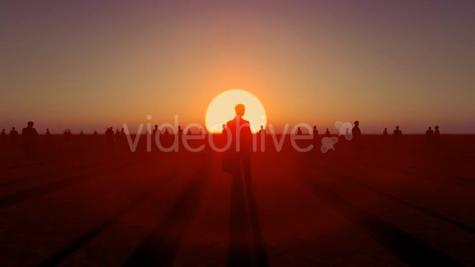 Sunset and Business People Videohive 19782040 Motion Graphics Image 7