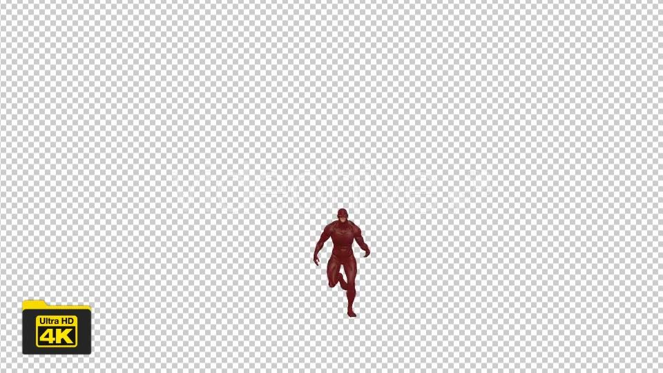 Superhero Running Videohive 19735654 Motion Graphics Image 5