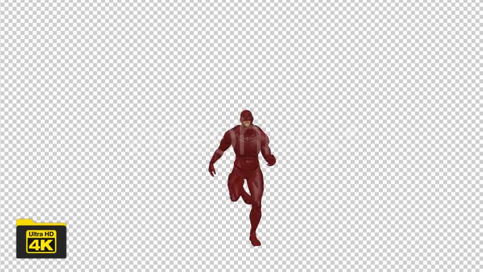 Superhero Running Videohive 19735654 Motion Graphics Image 7