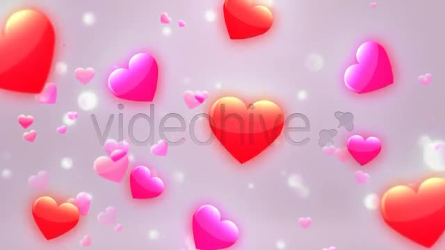 Valentine Hearts Videohive 6683967 Motion Graphics Image 1