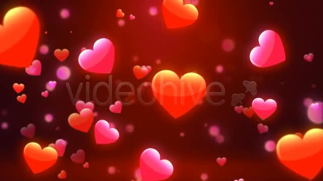 Valentine Love Hearts Videohive 6669301 Motion Graphics Image 1