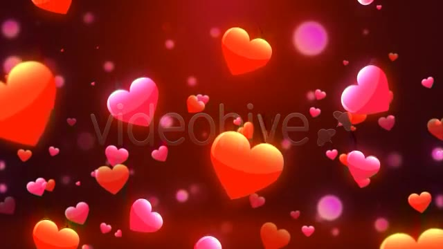 Valentine Love Hearts Videohive 6669301 Motion Graphics Image 2