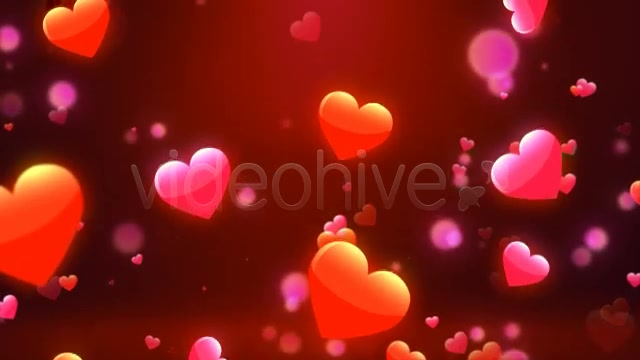 Valentine Love Hearts Videohive 6669301 Motion Graphics Image 3