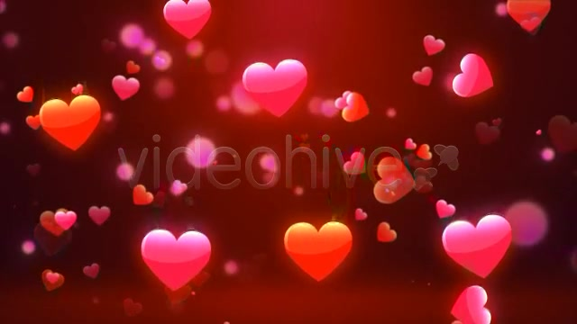 Valentine Love Hearts Videohive 6669301 Motion Graphics Image 6