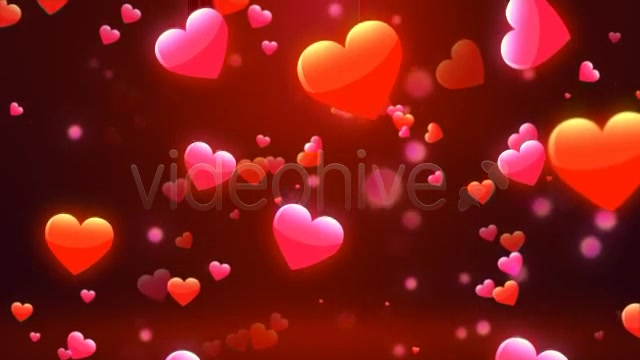 Valentine Love Hearts Videohive 6669301 Motion Graphics Image 9