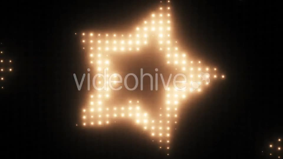 Wall of Lights Star VJ Loop Videohive 19751175 Motion Graphics Image 1