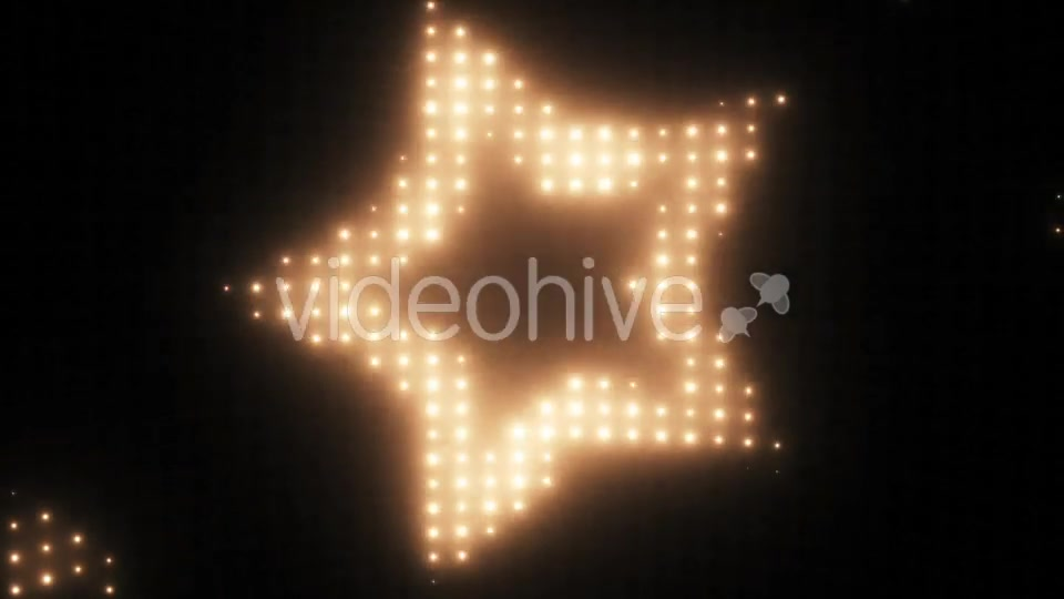 Wall of Lights Star VJ Loop Videohive 19751175 Motion Graphics Image 10